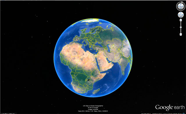 Google earth program