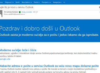 Outlook.com zamjenio Hotmail