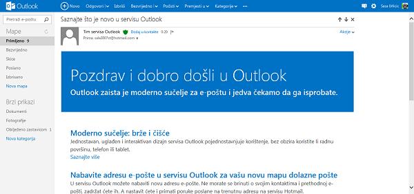 Outlook.com zamjenio Hotmail