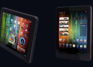 Prestigio MultiPad PMP5080 tablet dizajn