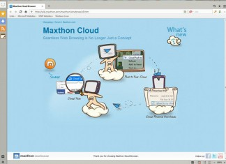 Maxthon Cloud Browser-4