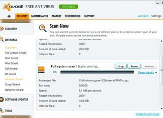 Avast Antivirus 8 Free
