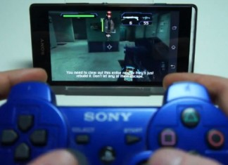 PS 3 gamepad Xperia