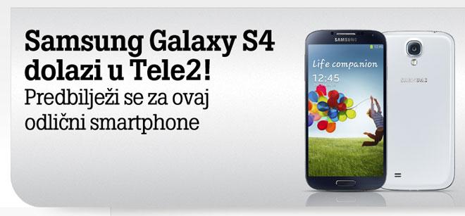 Galaxy S4 Tele2 ponuda