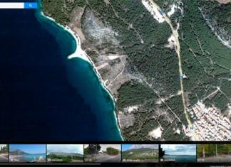 Street View i Panoramio thumbs