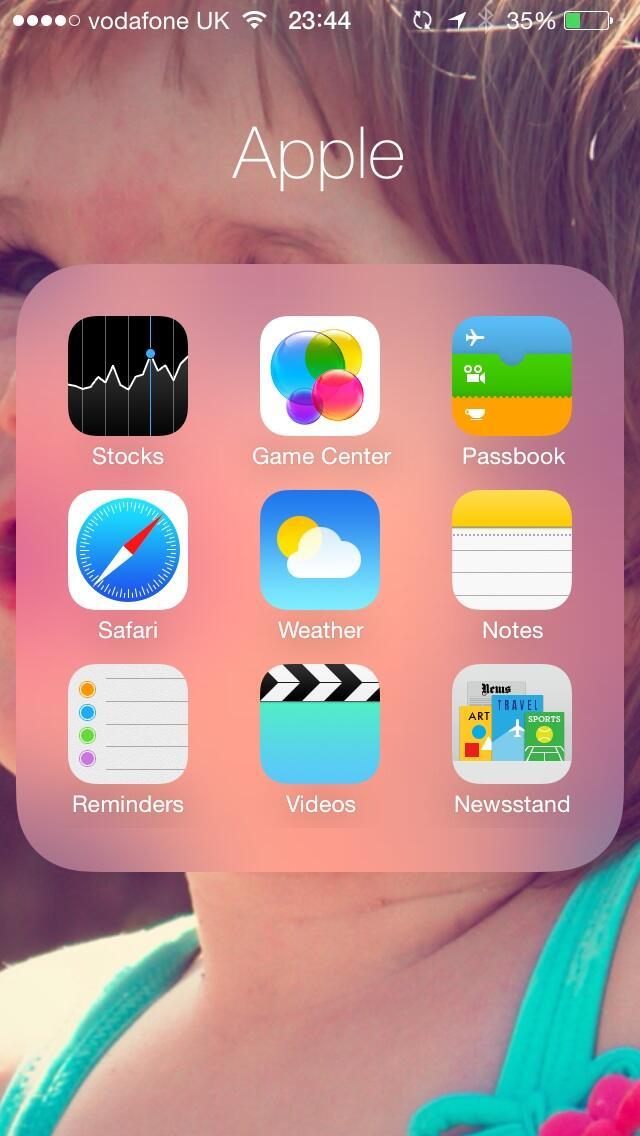 iOS7 mape