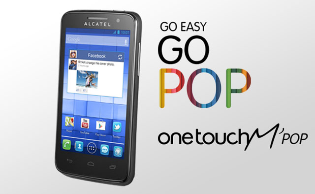 Alcatel One Touch M Pop pametni telefon