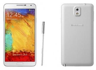 Samsungov Galaxy Note 3 - prednja i straznja strana