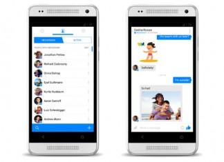 novo sučelje Facebook Messenger