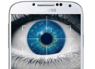 Samugung Galaxy S5 sustav verifikacije zjenicom oka