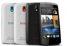 HTC Desire 500 White and Black