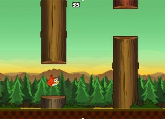 Clumsy Bird, klon Flappy Birda