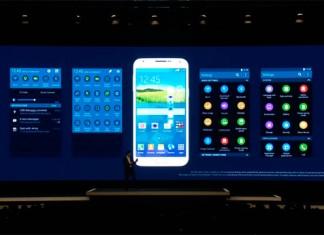 Galaxy S5 sučelje
