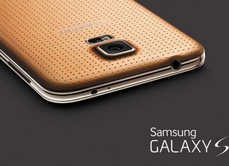 Samsung Galaxy S5 zlatni