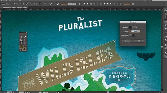 Adobe Illustrator sučelje