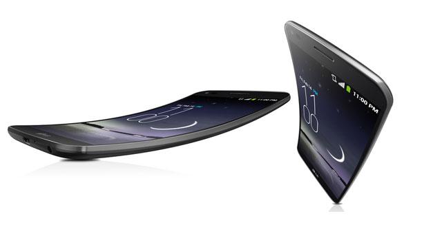 LG G Flex Dizajn