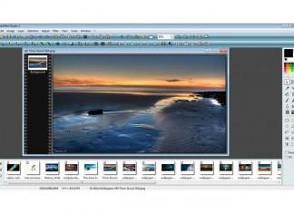 PhotoFiltre Studio X - sučelje