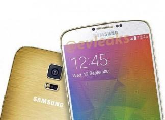Samsung Galaxy F zlatni