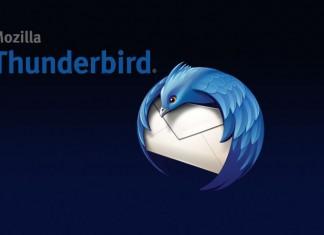 Mozilla Thunderbird 31 logotip