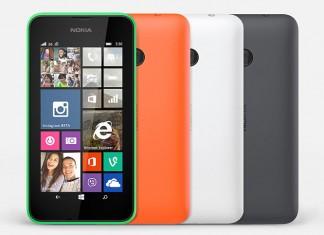 Nokia Luma 530 - dostupne boje