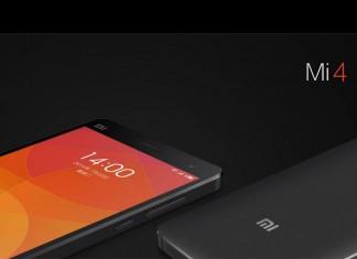 Xiaomi Mi4 - prednja i stražnja strana