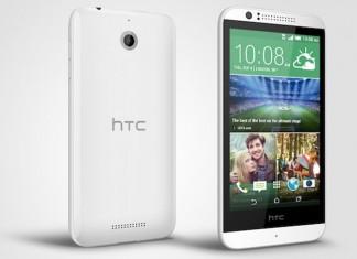 HTC Desire 510 stražnja i prednja strana smartphonea
