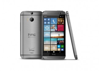 HTC One M8 for Windows srbrni