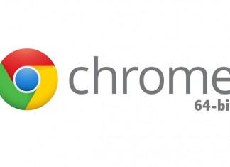 Google Chrome 64 Bit Logo