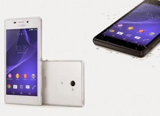 Sony Xperia m2 Aqua crna i bijela