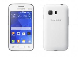 Samsung Galaxy Young 2 prednja i stražnja strana uređaja