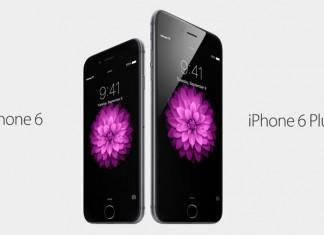 iPhone 6 i iPhone 6 Plus prednja strana uređaja