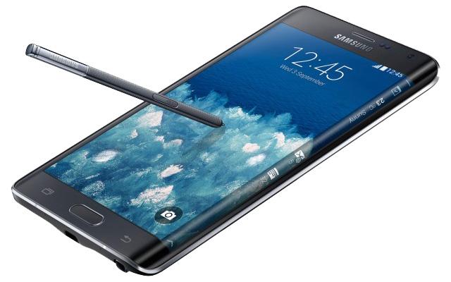 Samsung Galaxy Note Edge s zakrivljenim zaslonom