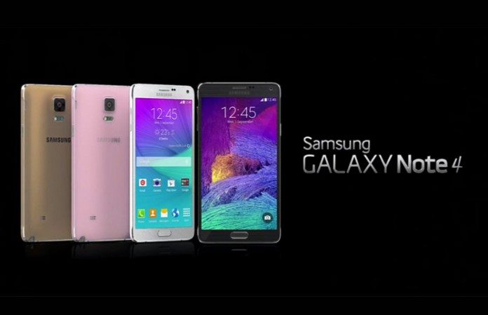 Galaxy note 4 zlatni, ružičasti, bijeli i crni model