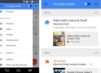 Inbox gmail za android