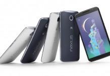 Nexus 6 pametni telefon srebrna i crna verzija