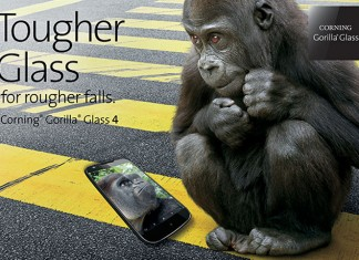 Gorilla Glass 4 reklama