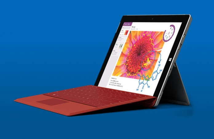 Microsoft Surface 3 tablet i Type cover tipkovnica