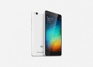 Xiaomi Mi 4i prednja i stražnja strana
