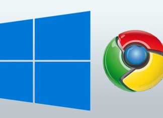 Windows i Google Chrome logo