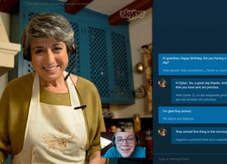Skype Translator Preview sucelje