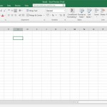 Office 2016 Excel sučelje