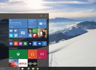 Početni zaslon Windowsa 10