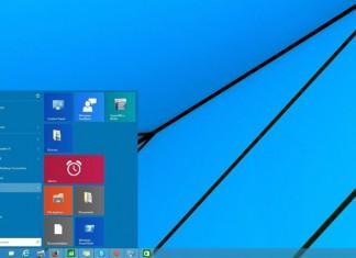 Start izbornik Windows 10