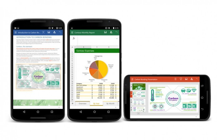 Word, Excel i PowerPoint za Android