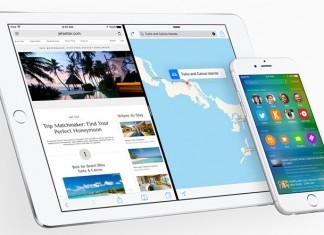 iOS 9 na ipadu