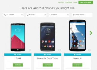 odabiru smartphonea LG G4, Motorola Turbo i Nexus 6