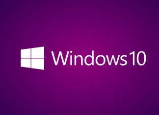 Windows 10 logotip ljubičasti
