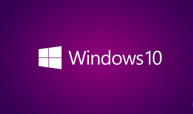 Windows 10 logotip ljubičasti