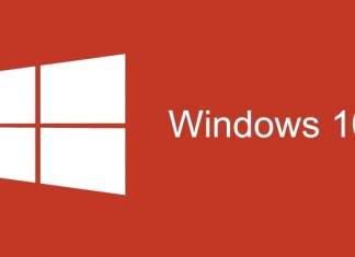 Windows 10 Logotip crveni