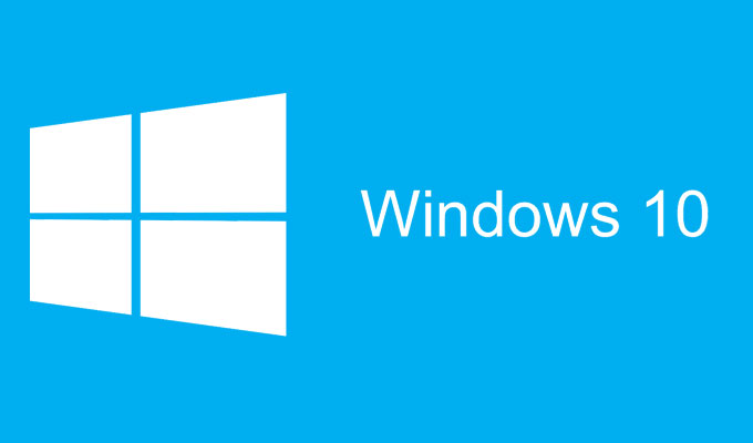 Windows 10 Logotip plavi